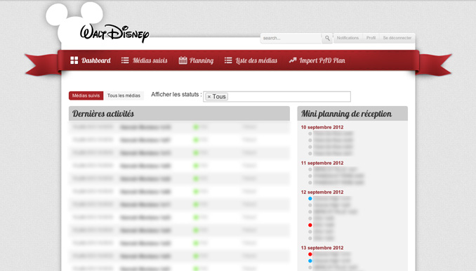 intranet cree pour walt disney france